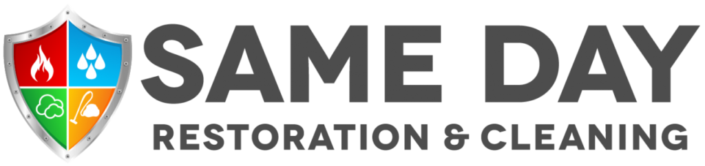 sameday restoration logo